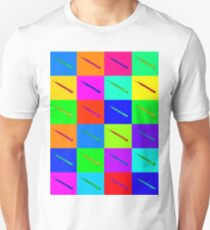 Colourful Oboe Fanatic Unisex T-Shirt