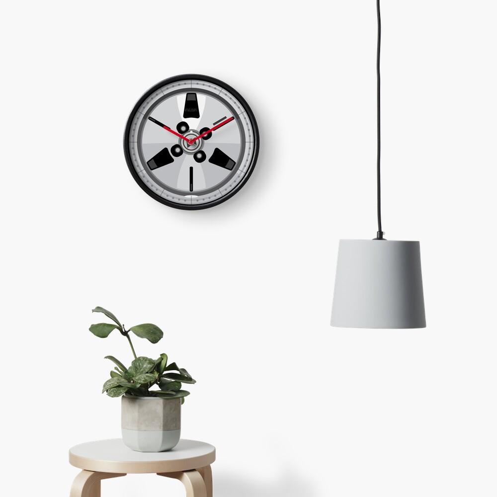Wheel Design Retro JDM Advan Racing Dish Clock