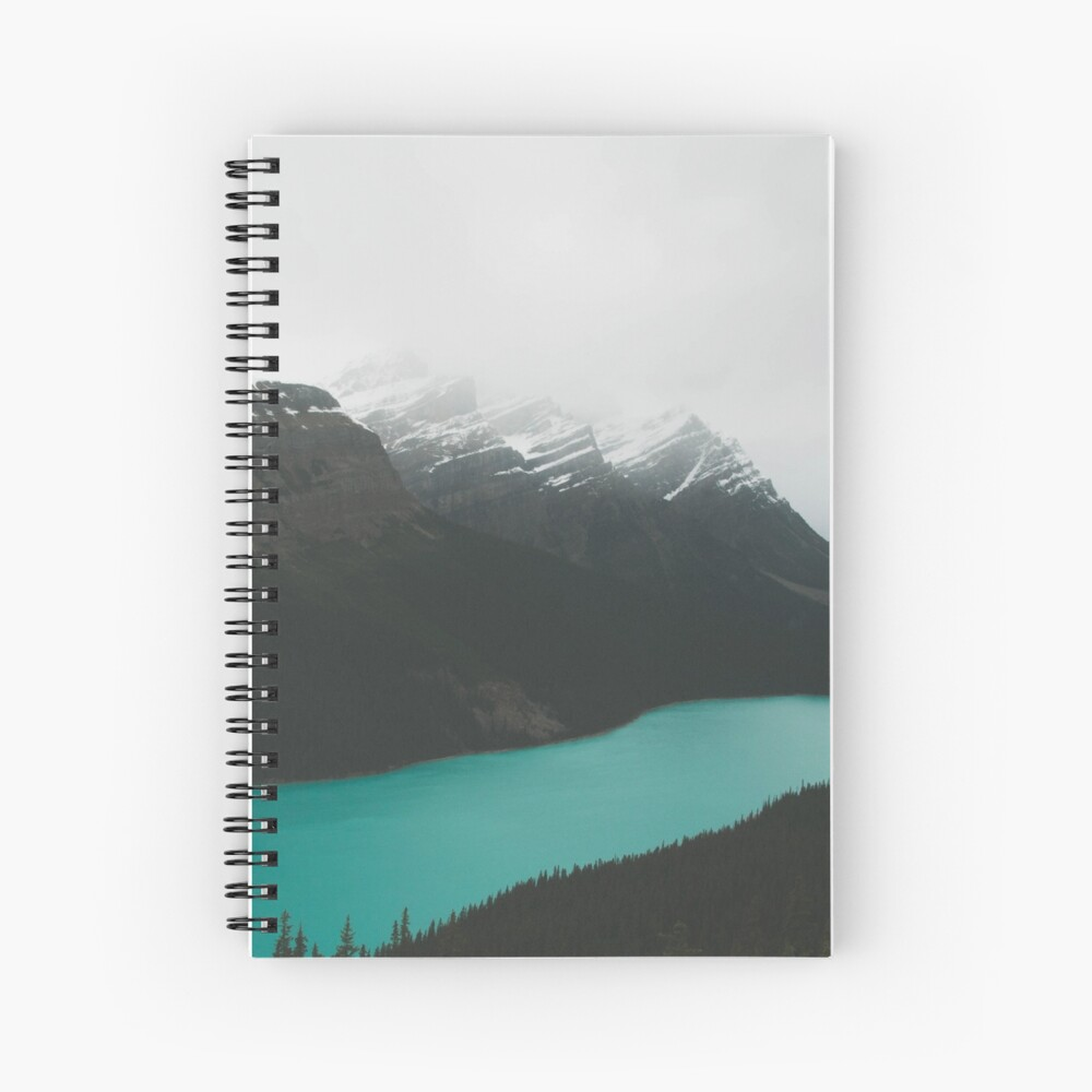 peyto lake Spiral Notebook