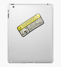 Dubstep Warning iPad Case/Skin