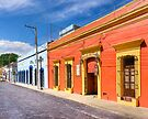 The Colorful Architecture of Oaxaca Mexico by Mark Tisdale