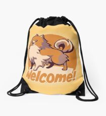 Missile! Drawstring Bag