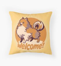 Missile! Throw Pillow