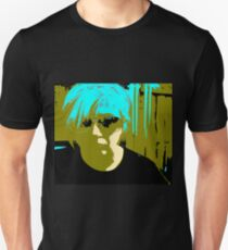 A hole where the rain gets in... Comic book Abstract pop art Unisex T-Shirt