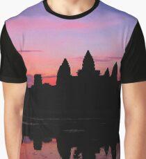 Angkor Wat Sunrise Reflection Graphic T-Shirt