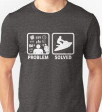 Problème de Jetski résolu T-shirt unisexe