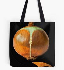 ▂ ▃ ▅ ▆ █ ZIPPED ONION █ ▆ ▅ ▃ Tote Bag
