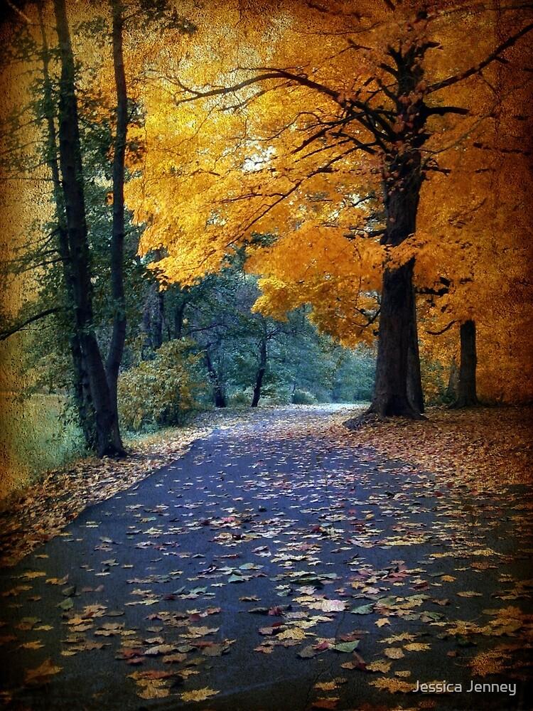 Autumn Path by Jessica Jenney