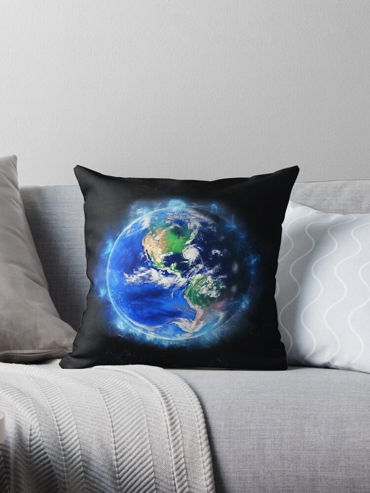 Planet Earth American World Globe by merchspace