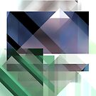 Abstract Geometric Landscape by SpLotchy