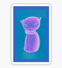 Glow Kitty  Sticker