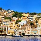 Symi Town Houses by Tom Gomez
