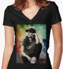 Shannon Beveridge Women's Fitted V-Neck T-Shirt