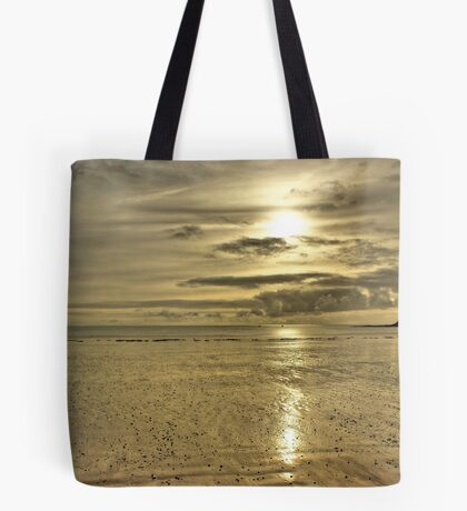 Beach Sunset - Oxwich Bay, Gower, Wales Tote Bag