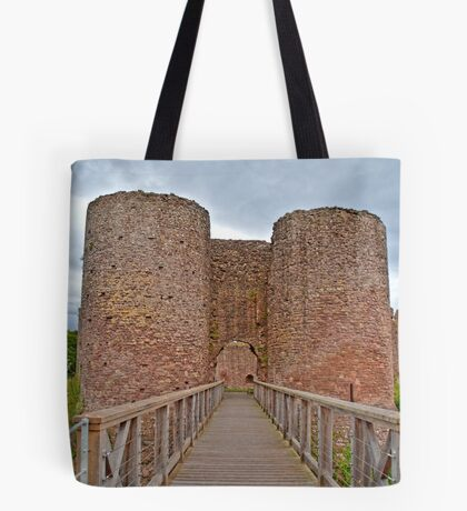 The White Castle in Wales, UK Tote Bag