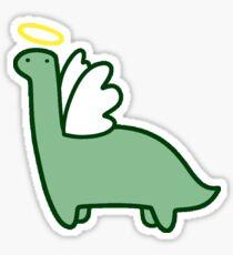 Angel Dinosaur Sticker
