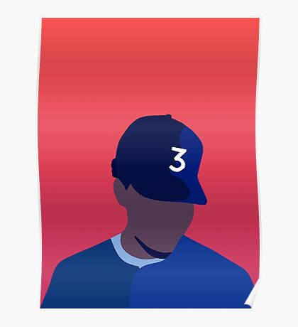 Chance The Rapper Coloring Book Poster