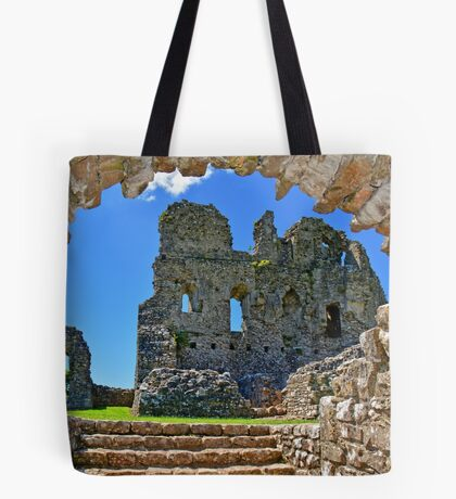 Ogmore Castle, a 12th century Norman Castle in Wales Tote Bag