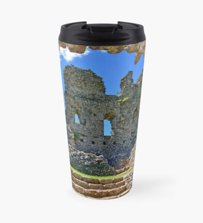 Ogmore Castle, a 12th century Norman Castle in Wales Travel Mug
