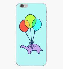 Balloon Dinosaur iPhone Case