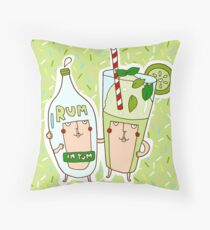 You're the rum to my mojito Throw Pillow