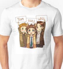 Chibi Team Free Will Ver. 2 T-Shirt