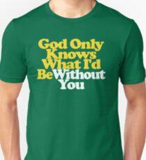 God Only Knows Beach Boys Lyrics Pet Sounds Shirt T-Shirt