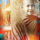 Monk Dance by Michael  Klinkhamer