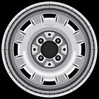 Wheel Design VDub Watercooled Vintage Steelie by Tom Mayer