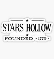 Stars Hollow Sticker