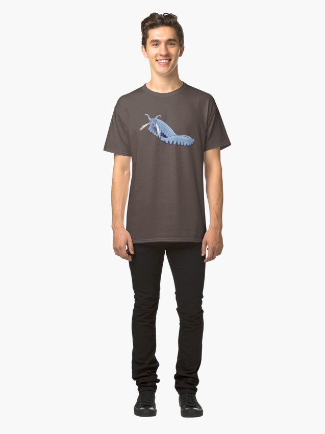 Alternate view of Blue Onychophora velvet worm  Classic T-Shirt