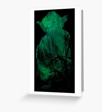 Force  & Wisdom Greeting Card