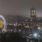 Berlin by Night by Federico Del Monte