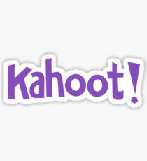 KAHOOT - Word Design Sticker
