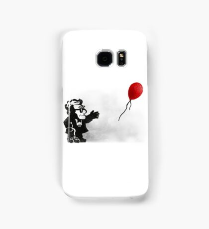 banksy UP Samsung Galaxy Case/Skin