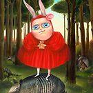 Secret. Prints on Premium Canvas. by Irena Aizen