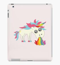 Unicorn - Puking Happiness iPad Case/Skin