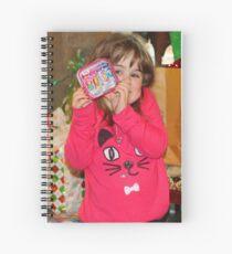 Sneak Peek Spiral Notebook