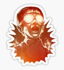 FIREEE! Sticker