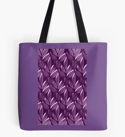 Purple pattern  ( 1831  Views) Tote Bag