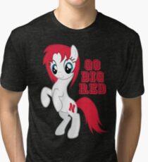Go Big Red Tri-blend T-Shirt