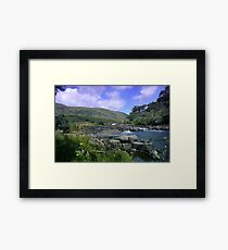Erriff River At Aasleagh Falls Framed Print