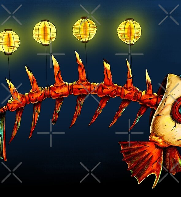 Lantern Fish by Marta Tesoro