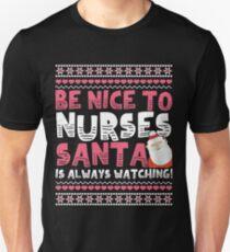 Gifts For Nurses Christmas Gift T-Shirt