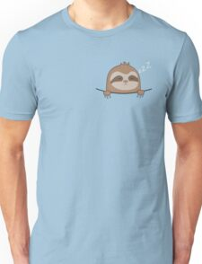Cute Pocket Sloth  Unisex T-Shirt