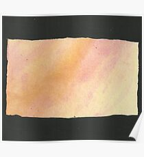 Watercolor Rectangle Poster