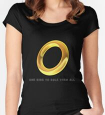 Don't lose it! Women's Fitted Scoop T-Shirt