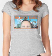 Camiseta entallada de cuello ancho Camiseta oficial de la señorita Betts