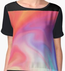 pink funky Women's Chiffon Top