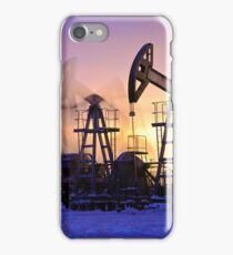 oil pumps  iPhone Case/Skin